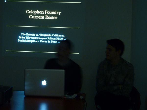 Our way or the Bezier with Colophon Foundry – EOP