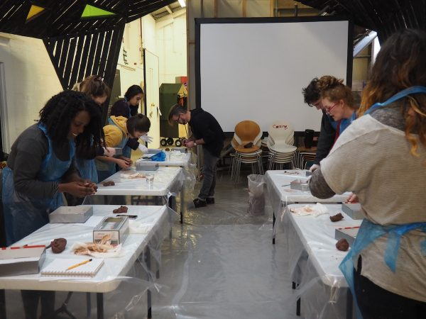 Des Hughes Plaster-casting workshop