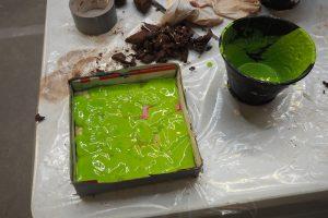 Des Hughes Plaster-casting workshop