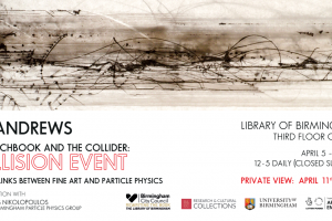 Ian Andrews: The Sketchbook and the Collider, Collision Event