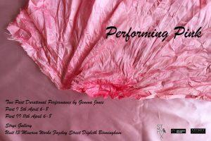 Gemma Jones: Performing Pink