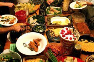 Summer Camp Potluck Supper