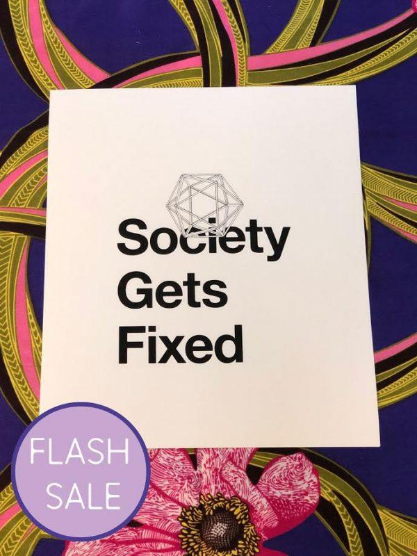 Society Falls Apart (2015) / Society Gets Fixed (2020)
