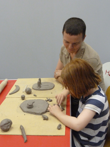 Exploring Sculpture: Making Faces