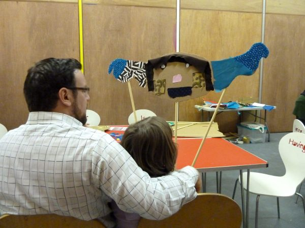 Exploring Puppetry: Creating Creatures