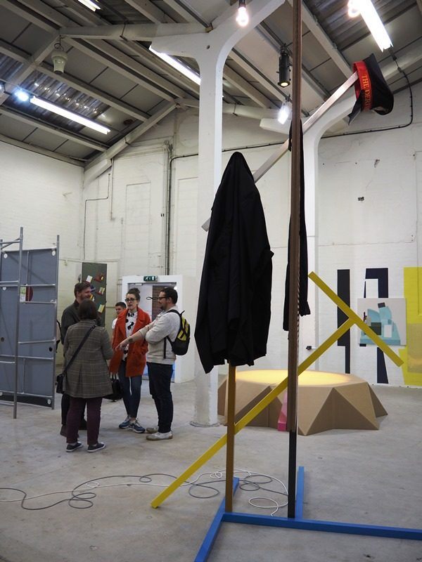 Late night opening of 'Display Show' and 'City Growth Blues' by Flore Nové-Josserand