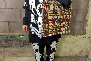 Richard Woods, Duck Weave Tote Bag, 2016