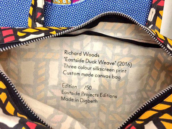 Richard Woods, Duck Weave Tote Bag