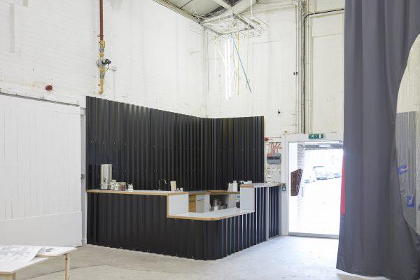 Simon & Tom Bloor, Plane Structure, Desk/Kitchen/Bar, 2018
