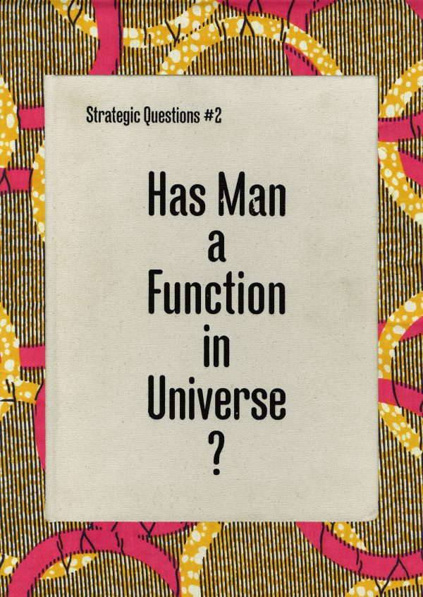 Strategic Questions #2: Has Man a Function in Universe?