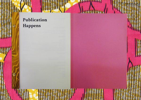 Publication Happens