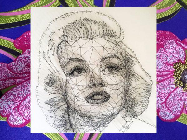 Embroidery Art – Marilyn
