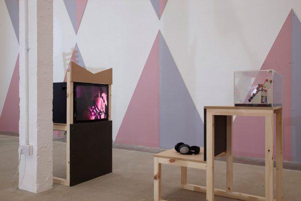 Tom Bloor & Céline Condorelli, Puppet Show Front Desk Furniture
