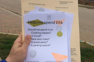 Residents of Longford Park … submit your ideas!