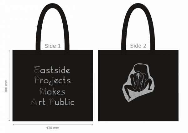 New Eastside Projects Tote bag featuring Emma Talbot, When Screens Break, 2020