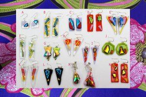 Kiln Fired Earrings – Range 1