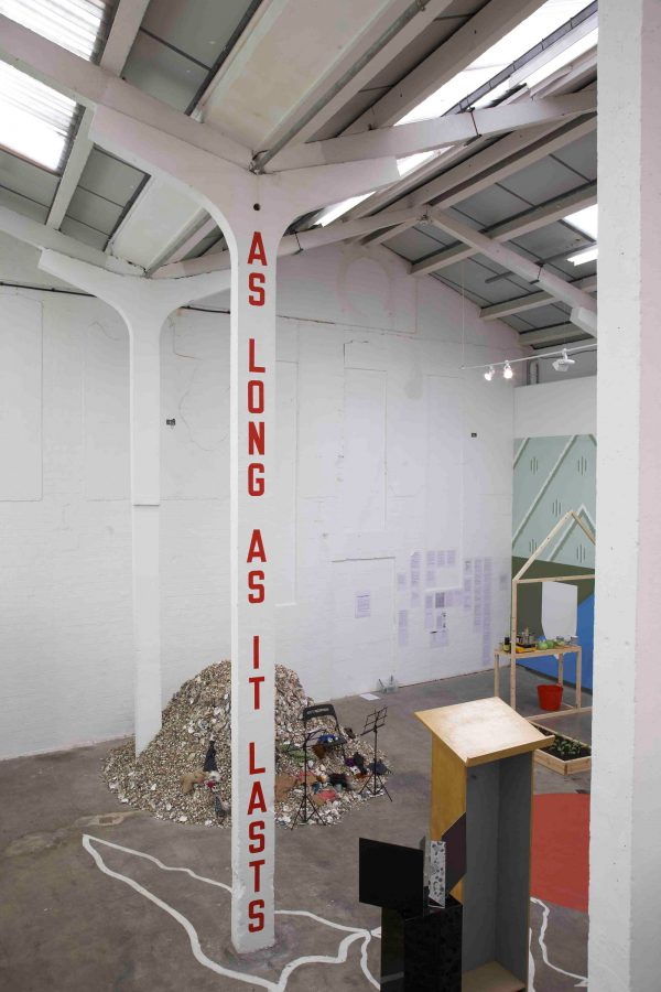 Lawrence Weiner, As Long As It Lasts