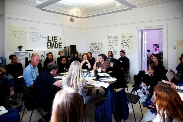Policy Show Meeting #1: Unspoken policies of the art organisation
